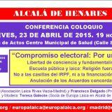 charla Alcala Henares 2015