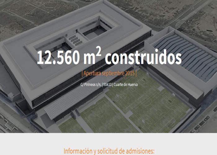 colegio privado concertado Cuarte Zaragoza