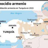 mapa genocidio Armenia