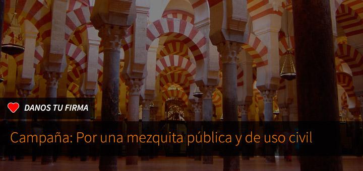 Firma por una mezquita de uso público y civil