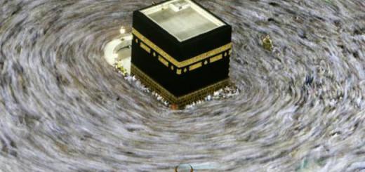 Peregrinos a la Meca dan vueltas a la Kaaba. / Hasan Sarbakhshian  (ap)