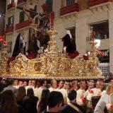procesion del Cristo de la Sangre Malaga