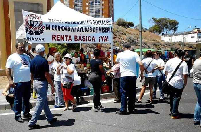 red solidaridad popular canarias