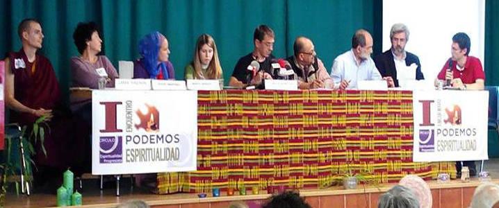 reunion espiritualidad Podemos 2015