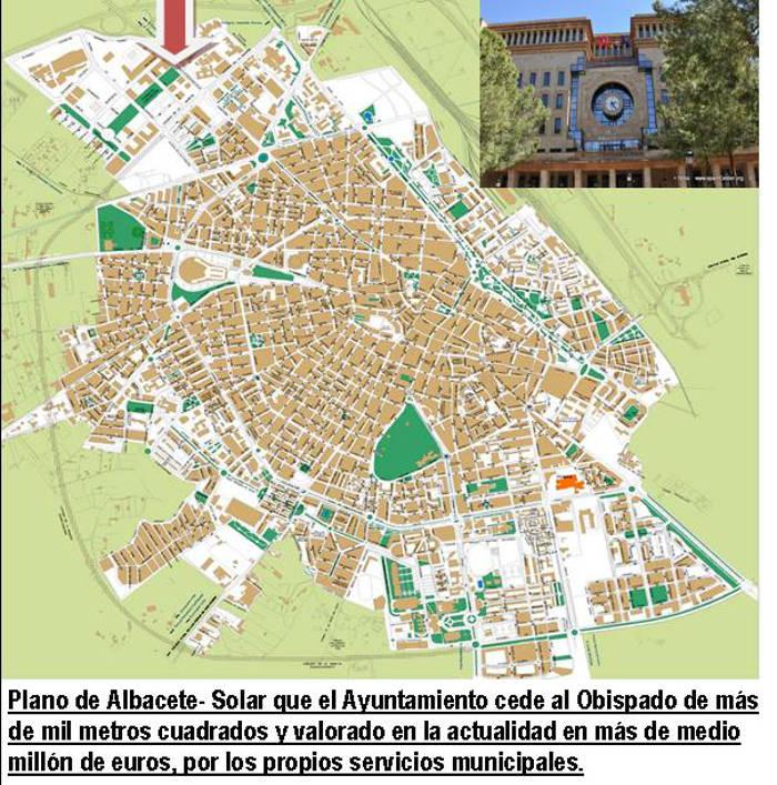solar municipal Albacete cedido al obispado 2015