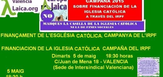 Acto Valencia IRPF 2015