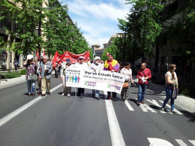 Granada Laica manis 1 mayo 20150501 a