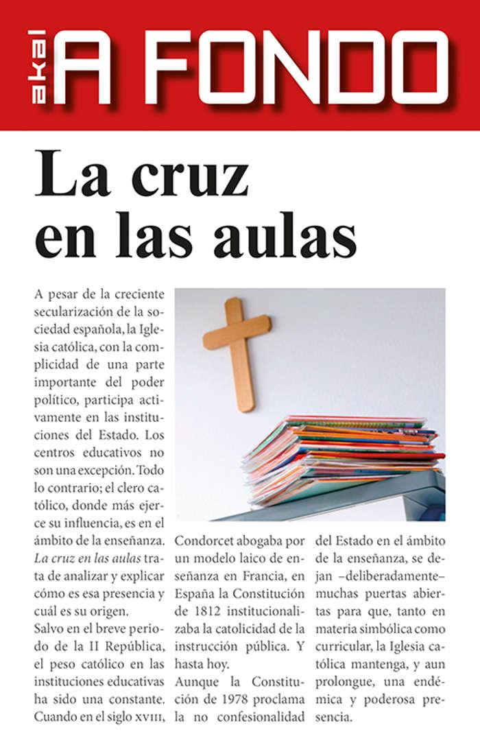 Libro Cruz en las aulas