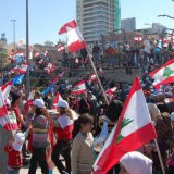 Manifestacion Beirut Libano 2015