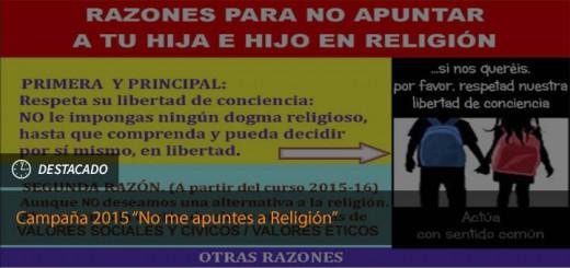 No me apuntes a religion2015