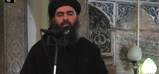 Al Baghdadi en una mezquita de la ciudad iraquí de Mosul el pasado mes de julio.