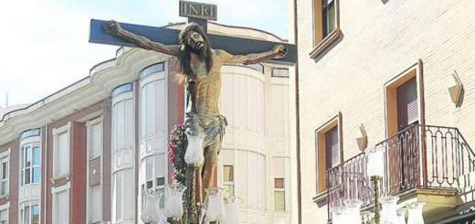 cristo Misericordia cofradia Valladolid simbolos franquistas 2015