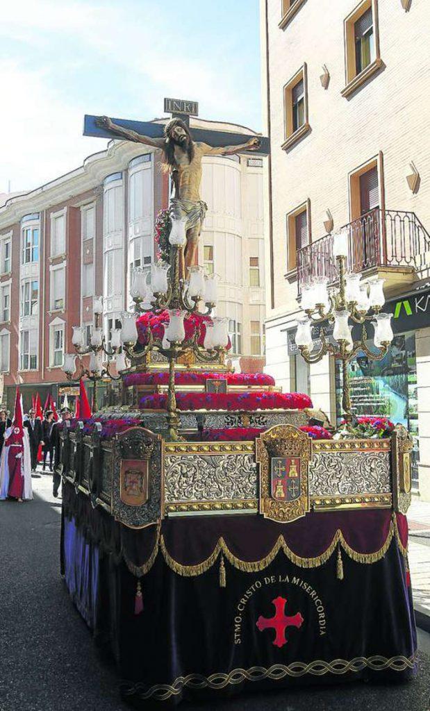 cristo Misericordia cofradia Valladolid simbolos franquistas 2015a