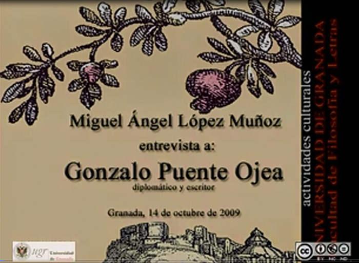 entrevista a Gonzalo Puente Ojea 2009