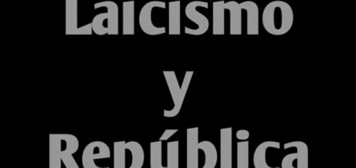 laicismo y republica