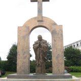 ploermel estatua a Juan Pablo II a