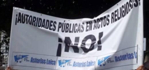 Asturias Laica bendicion aguas Gijon 2015