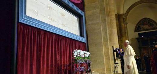 Bergoglio sabana santa Turin 2015