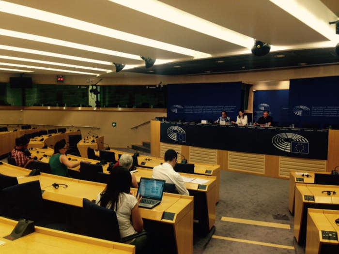 Presenta Carta Laicidad Parlamento Europeo 2015 Rueda de prensa 2