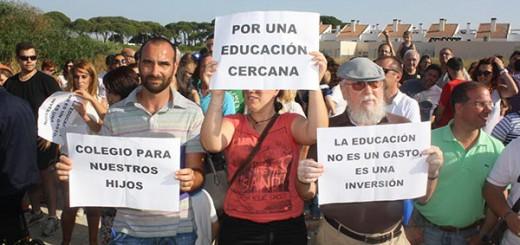 Puerto Real 2015 escolarizan en centros confesionales