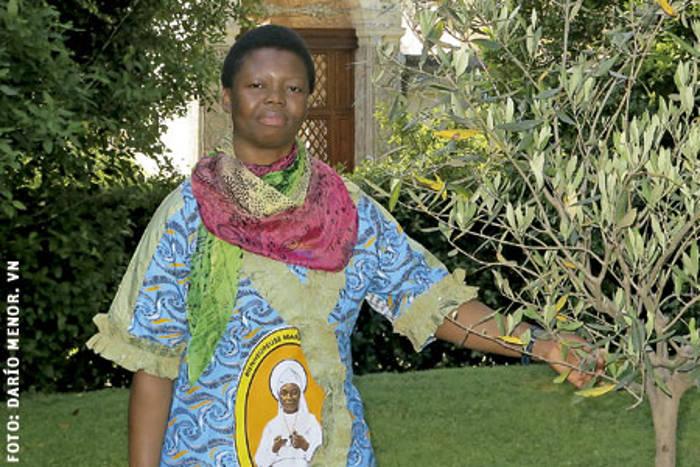 Sor-Rita-Mboshu monja africana