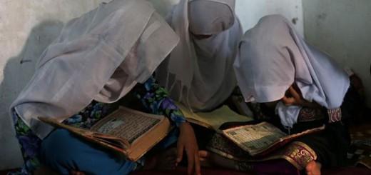 alumnas afganas