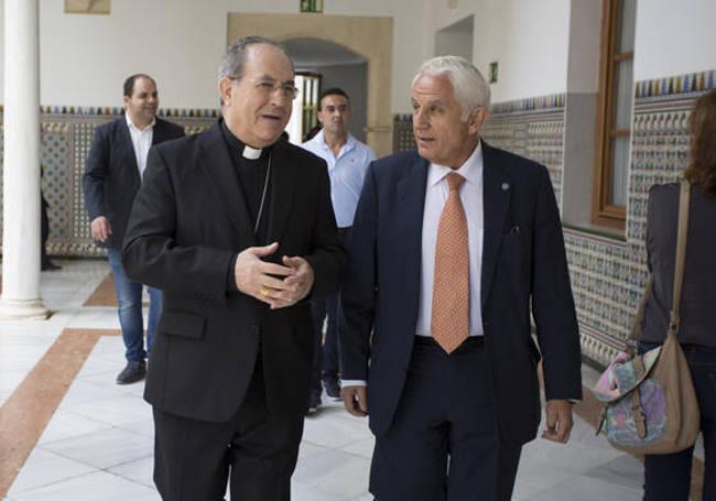 arzobispo Sevilla en toma posesion Susana 2015