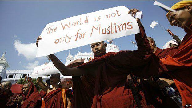 budismo contra musulmanes Birmania 2015