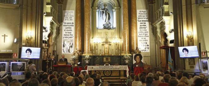 homenaje a Zerolo en una iglesia Madrid 2015