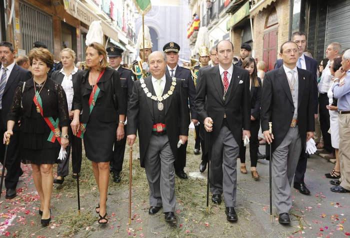 procesion Corpus Granada 2015 ayuntamiento