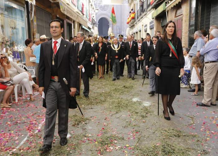 procesion Corpus Granada 2015 candidato PSOE