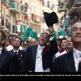 Alcalde Pamplona de EH Bildu procesion San Fermin 2015
