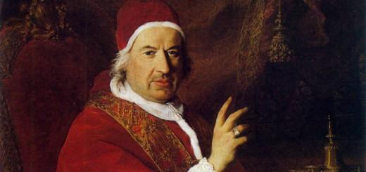 Benedicto XIV, (Bolonia, 31 de marzo de 1675 - Roma, 3 de mayo de 1758), fue el papa nº 247 de la Iglesia católica entre 1740 y 1758.