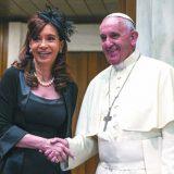 Cristina y Gergoglio