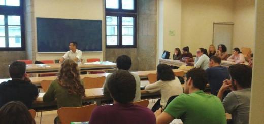 Primera conferencia del Curso impartida por César Tejedor, profesor de filosofía y  coordinador de Formación de Europa Laica.