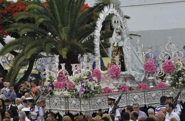 Procesion Virgen del Carmen Las Palmas 2015 b