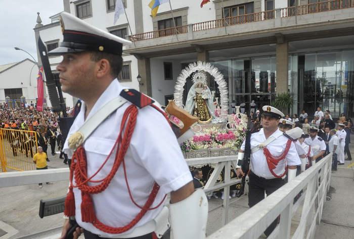 Procesion Virgen del Carmen Las Palmas 2015 c