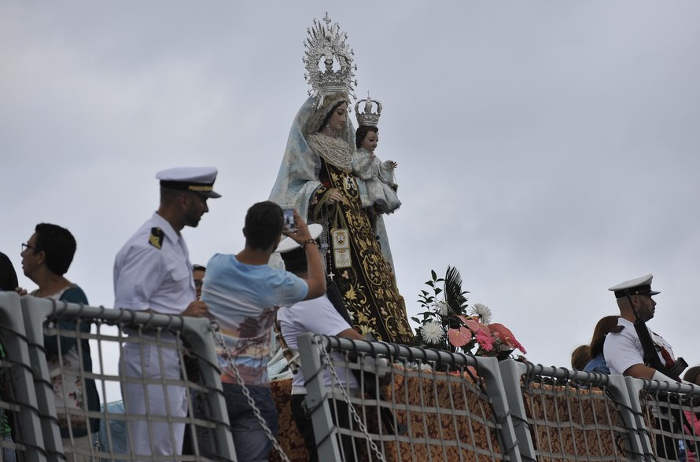 Procesion Virgen del Carmen Las Palmas 2015 f