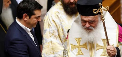 Tsipras iglesia ortodoxa