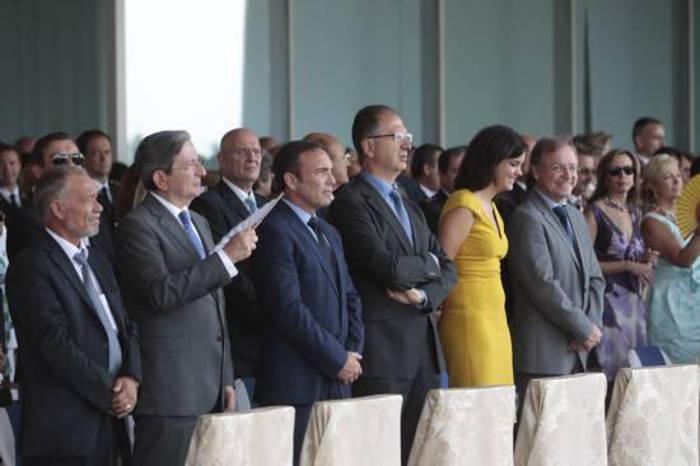 Sandra Gómez es la única concejala del equipo de gobierno en el acto del Veles e Vents junto a 2 ediles del PP y 2 de Ciudadanos