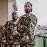Matthew VanDyke, que entrena a soldados cristianos para enfrentarse al IS en Irak. EL MUNDO