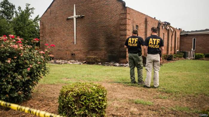 iglesia metodista incendiada USA 2015 a