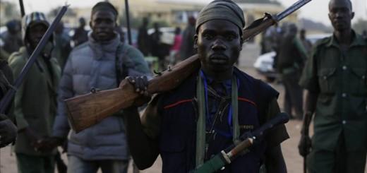 milicias contra islamistas Boko Haram Nigeria 2015