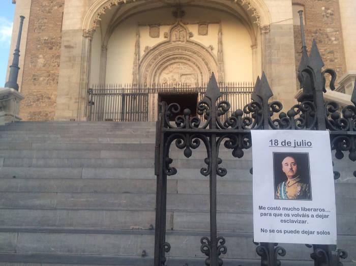 misa 18 de julio en Los Jeronimos Madrid 2015