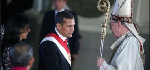 presidente Peru en Tedeum 2015