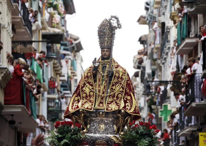 procesion sanfermin 2015