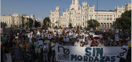 protestas Ley Mordaza 2015 Madrid