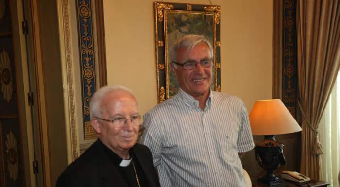 Reunión entre el alcalde y el arzobispo de Valencia / Ayuntamiento Valencia
