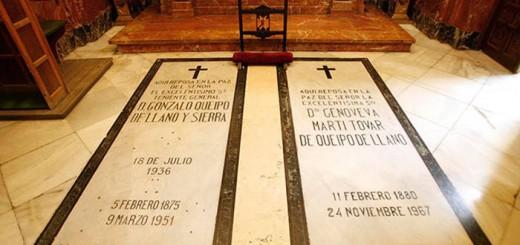 tumba queipo llano basilica Macarena