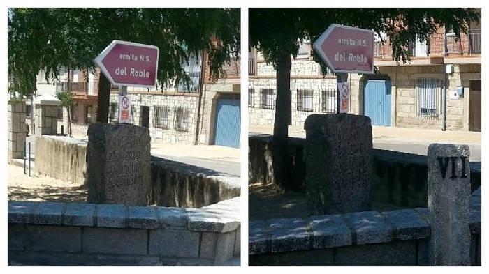 La misma esquina ahora y hace unas semanas, cuando aún estaban las paradas del Vía Crucis. Foto: ABC